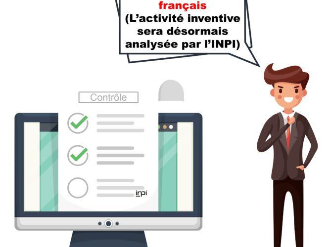 LOI PACTE : Activité inventive