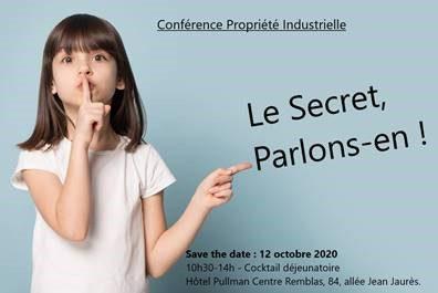 Le Secret, Parlons-en ! Lundi 12 Octobre. SAVE THE DATE